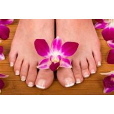CND French Gel Pedicure
