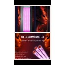 30 Days Unlimited Collagen Pink Twist Tanning  (18+)